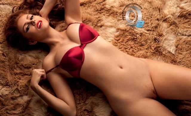 Amanda Gontijo pelada nua na Playboy 14