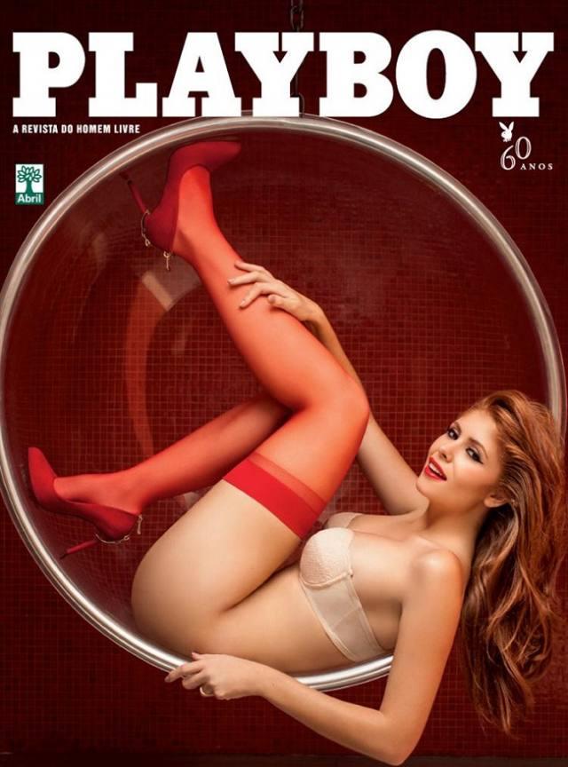 Amanda Gontijo pelada nua na Playboy 2