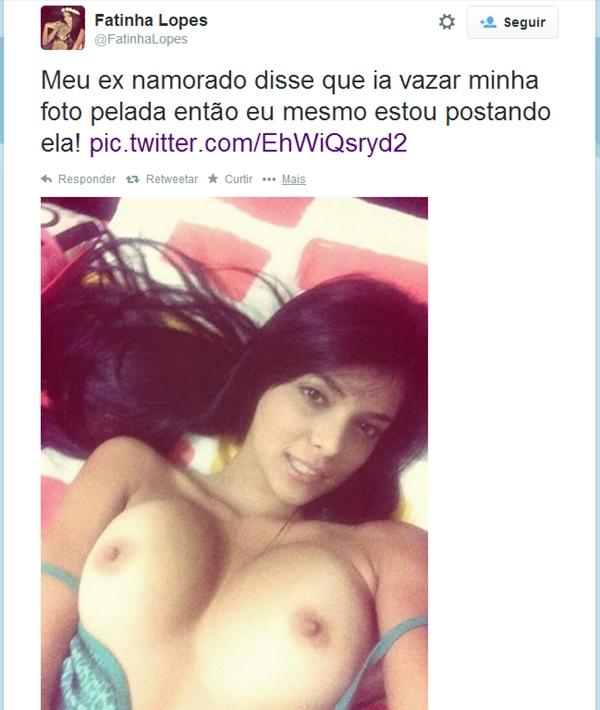 Fatinha Lopes pelada nua caiu na net 1