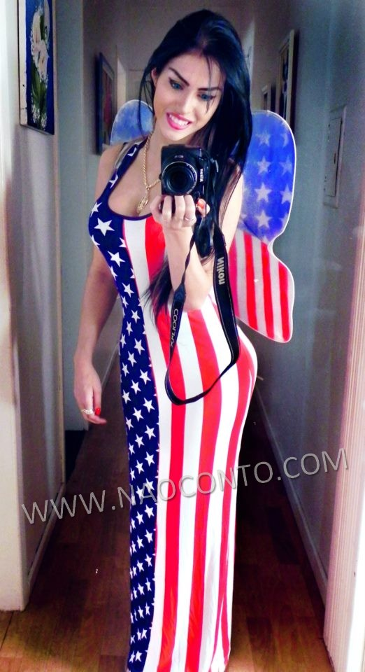 Cláudia Alende Sósia da Megan Fox candidata a Miss bumbum 2014 1