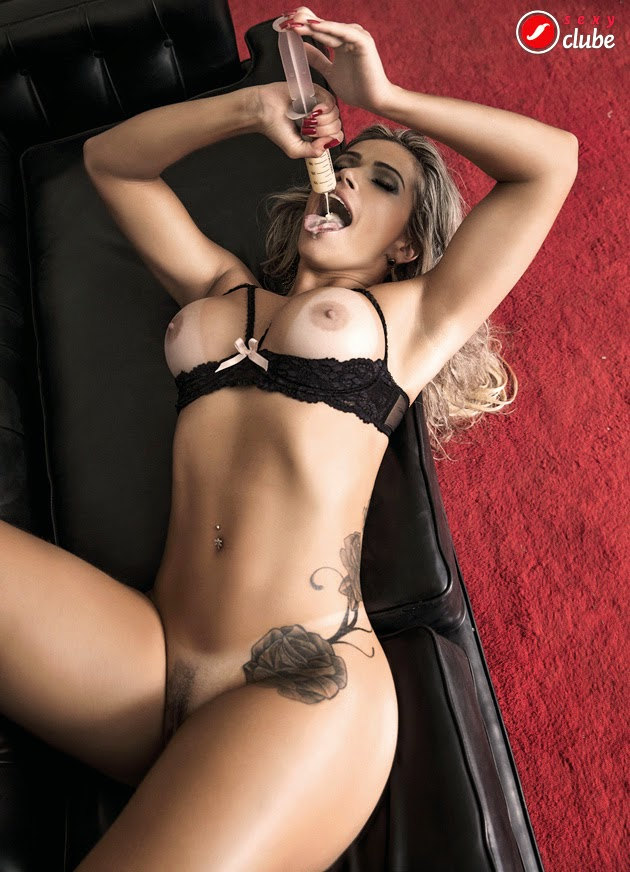 Fani Pacheco pelada nua na Sexy de Maio 2014 11