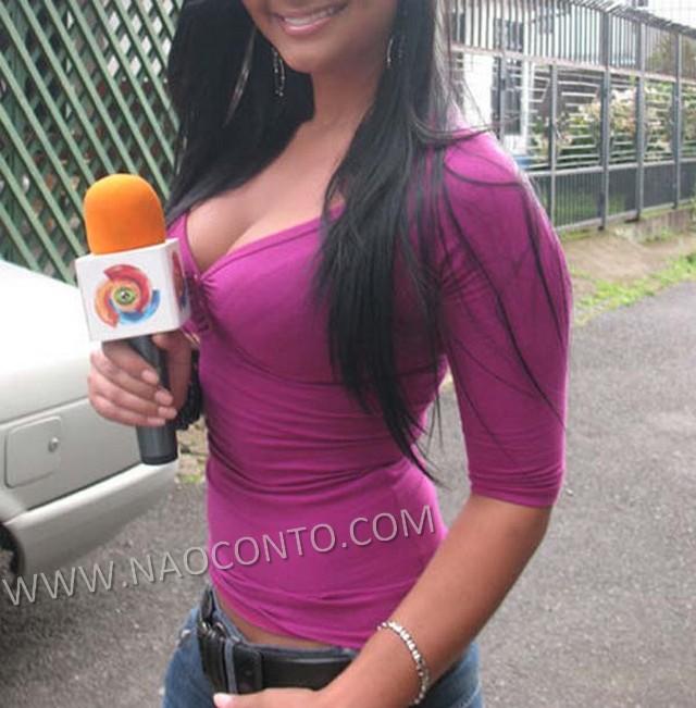 Jornalista musa Costa Rica Copa Jale Berahimi fotos 2