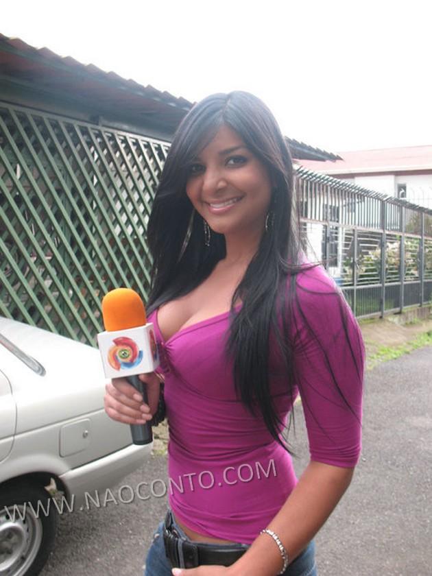Jornalista musa Costa Rica Copa Jale Berahimi fotos 22