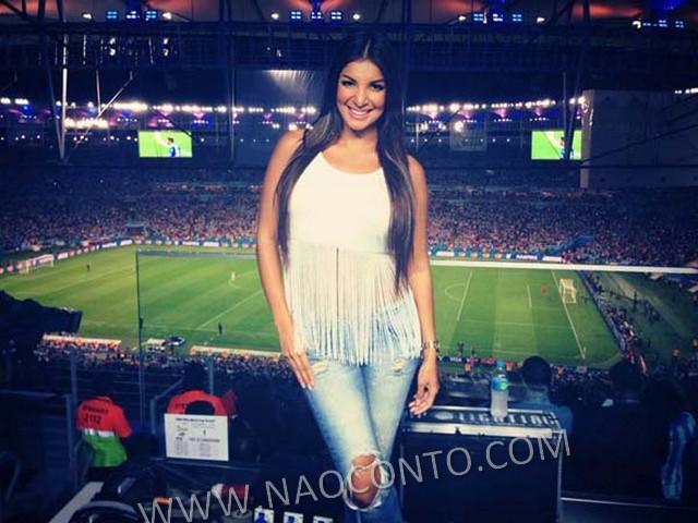 Jornalista musa Costa Rica Copa Jale Berahimi fotos 4