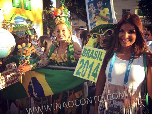 Jornalista musa Costa Rica Copa Jale Berahimi fotos 5