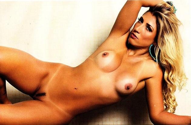 Rô Fraga pelada nua na Revista Sexy de Junho 2014 1