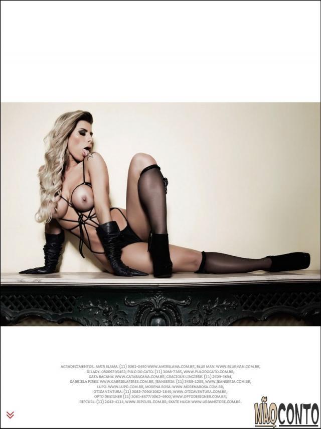 Ana Paula Minerato nua pelada na Revista Sexy Agosto (16)
