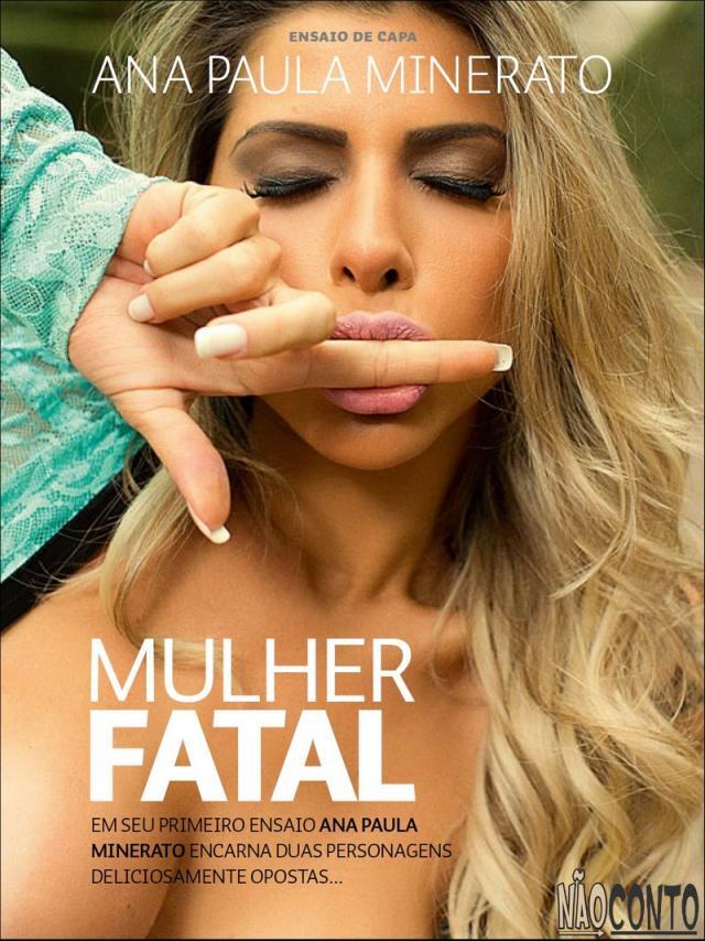 Ana Paula Minerato nua pelada na Revista Sexy Agosto (2)