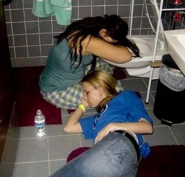 Quando as mulheres ficam bêbadas fazem cada coisa 5