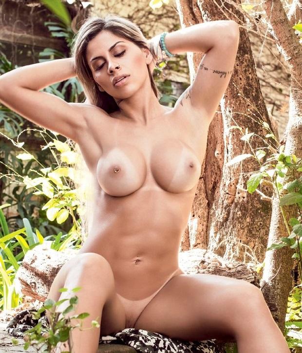 Vanessa Mesquita pelada nua na Playboy BBB14 de Julho (11)