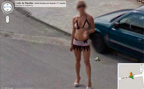 Fotos de gostosas no Google street view 13