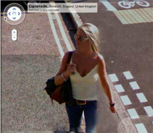 Fotos de gostosas no Google street view 16
