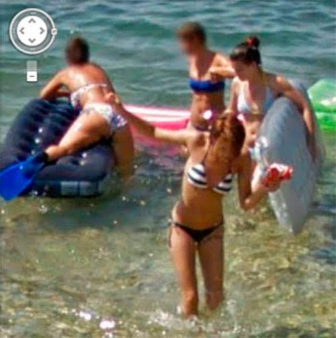Fotos de gostosas no Google street view 18