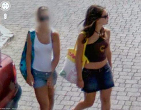 Fotos de gostosas no Google street view 19