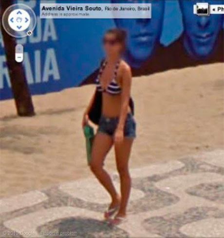 Fotos de gostosas no Google street view 26