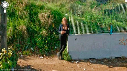 Fotos de gostosas no Google street view 27