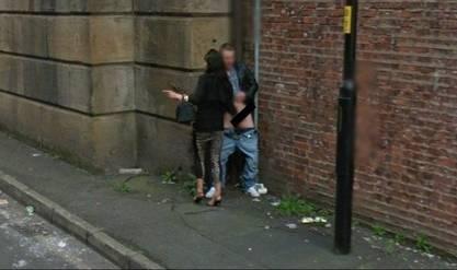 Fotos de gostosas no Google street view 4