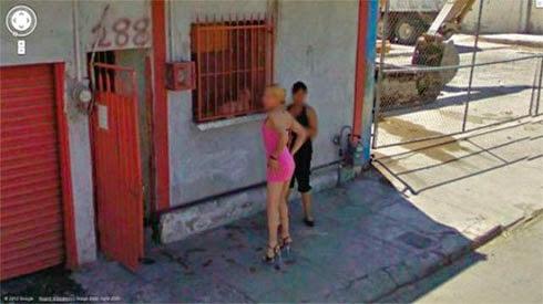 Fotos de gostosas no Google street view 7