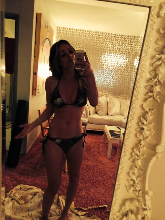 Site vaza fotos de Kaley Cuoco, Victoria Justice, Ariana Grande, Kate Upton e outras famosas nuas naked nude 13