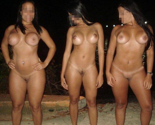 Cacau e suas amigas cavalas na praia 1