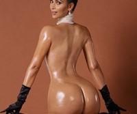 Fotos da Kim Kardashian pelada na polemica revista americana Paper