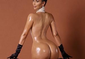 Fotos da Kim Kardashian pelada na polemica revista americana Paper - http://www.naoconto.com