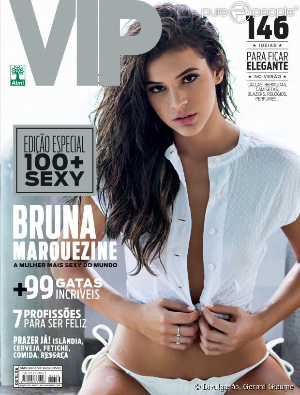Fotos da Bruna Marquezine na revista VIP de novembro 1