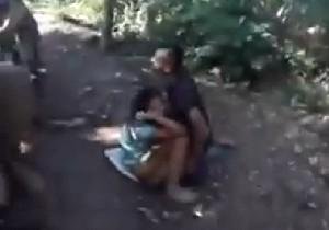Motoqueiros flagram casal fazendo sexo bem no meio da trilha