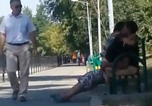 Casal faz sexo à luz do dia em parque no Cazaquistão