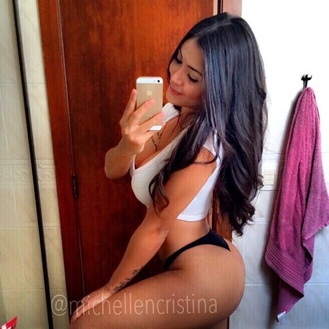 Com vocês Michellen Cristina, a nova gostosa do instagram 24