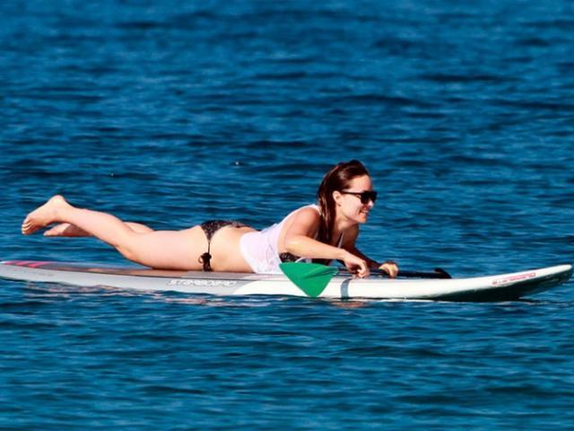 Paparazzo flagra buceta da atriz Olivia Wilde 3