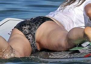 Paparazzo flagra buceta da atriz Olivia Wilde