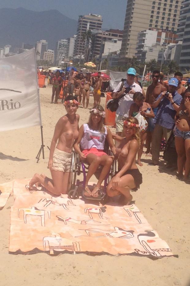 Fotos do toplessaço na Praia de Ipanema 23