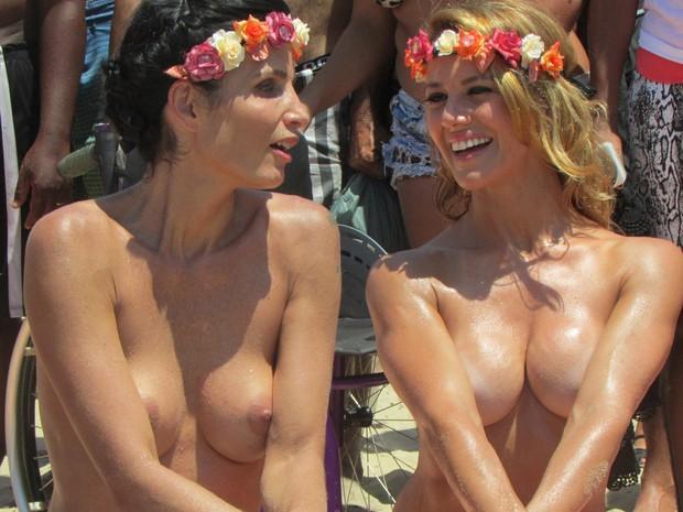 Fotos do toplessaço na Praia de Ipanema 25