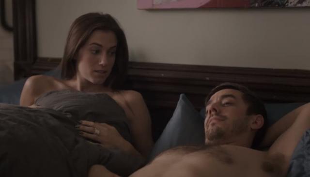 A cena da série Girls que chocou com o verdadeiro sexo nunca visto na TV 1