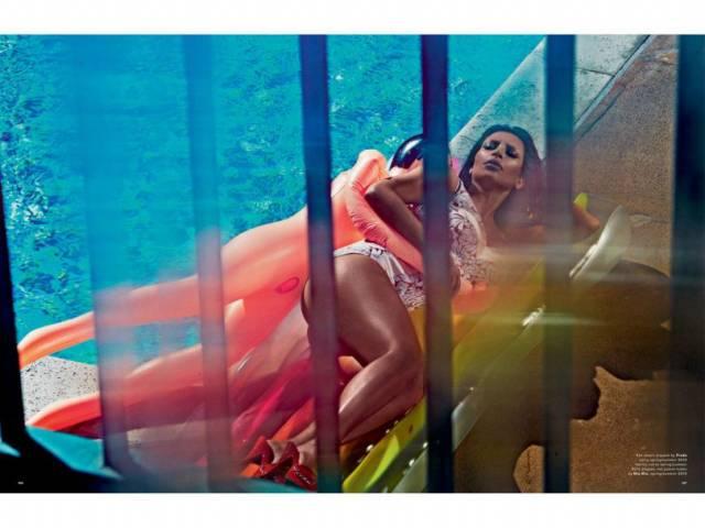 Fotos da Kim Kardashian nua na Love Magazine 8