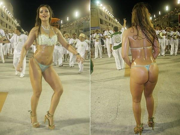 Mulheres peladas no carnaval 1