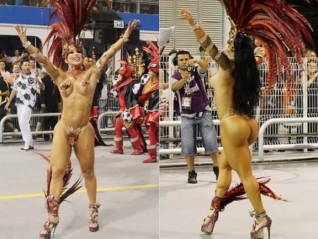 Mulheres peladas no carnaval 19