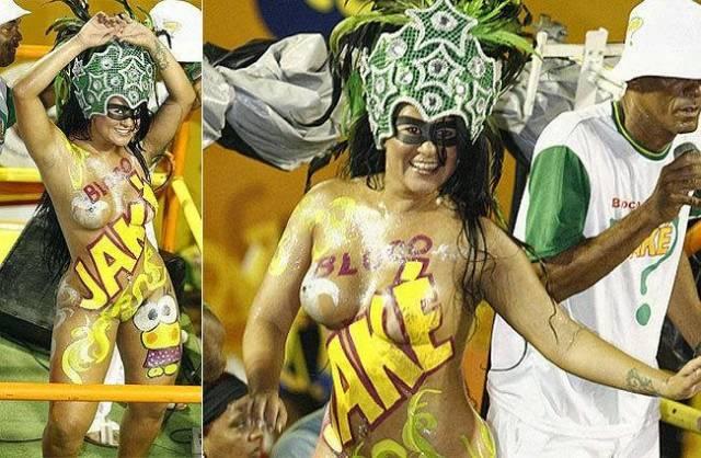 Mulheres peladas no carnaval 6