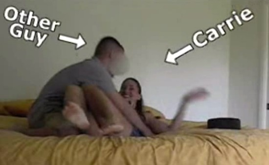 Namorado pegou no flagra a namorada traindo 2