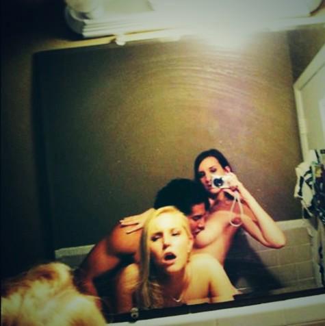 Nova moda Sexselfie Selfie na hora do sexo 23