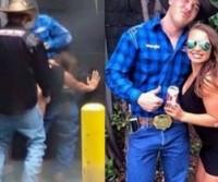 Mulher é filmada fazendo sexo com dois em rodeio