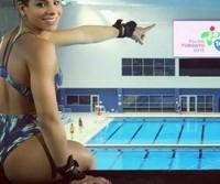 Fotos da Ingrid Oliveira a gostosa do Pan-Americano