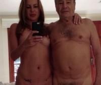 Fotos do Stenio Garcia pelado com esposa caiu na net