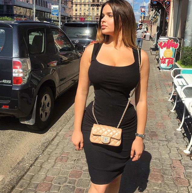 Fotos da novinha Russa Anastasiya Kvitko, a nova gostosona da internet 19