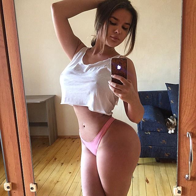 Fotos da novinha Russa Anastasiya Kvitko, a nova gostosona da internet 40