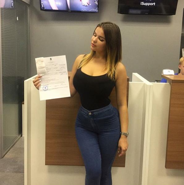 Fotos da novinha Russa Anastasiya Kvitko, a nova gostosona da internet 6