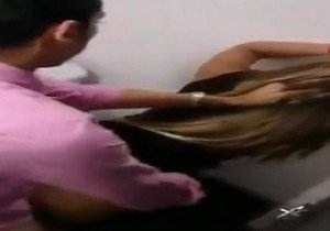 Glory Rivera Locutora famosa de radio caiu na net transando no banheiro
