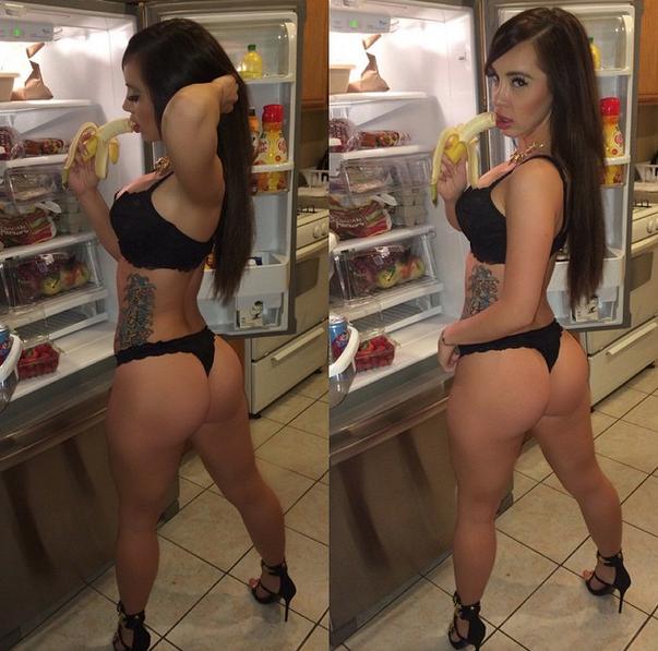Taisha Marie, a gostosa do instagram pelada caiu na net 22
