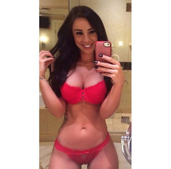 Taisha Marie, a gostosa do instagram pelada caiu na net 23